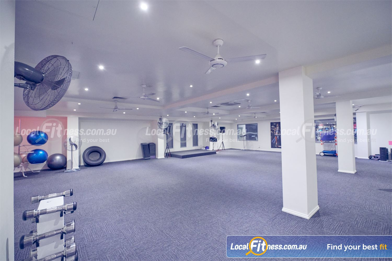 Fernwood Fitness Near Templestowe Lower Our Bulleen group fitness studio is full equipped for all range of classes.