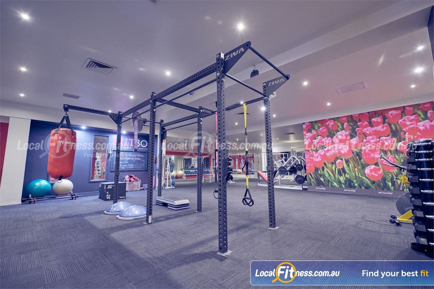 Fernwood Fitness Bulleen FII30 runs in our dedicated Bulleen HIIT gym and functional training zone.