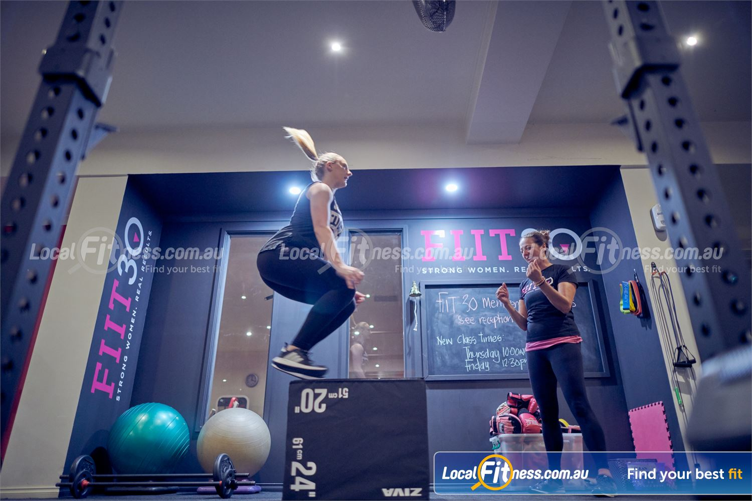 Fernwood Fitness Near Templestowe Lower Fernwood FIIT30 in Bulleen is our Functional Intense Interval Training classes.