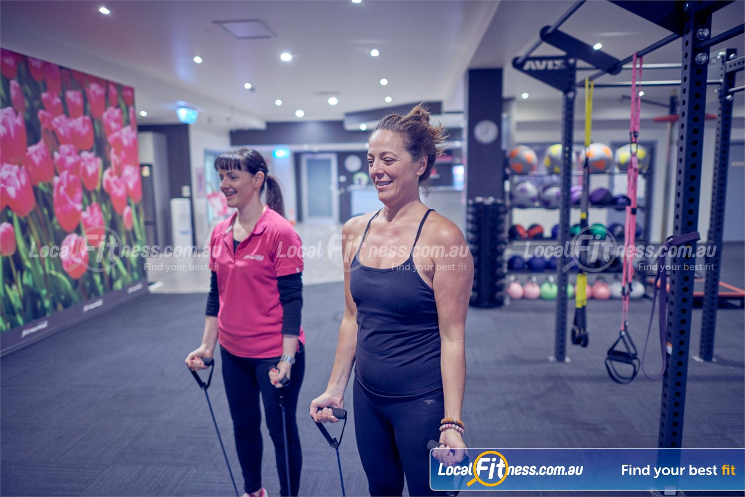 Fernwood Fitness Bulleen Our personal training team can show you the benefits of strength training for women.