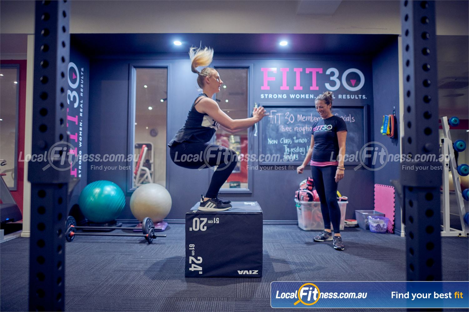 Fernwood Fitness Near Doncaster Enjoy a Bulleen personal training sessions in our functional training area.