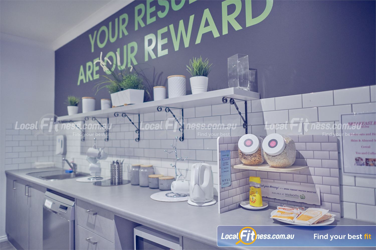 Fernwood Fitness Near Templestowe Lower Our members kitchen provides complimentary breakfast, tea, coffee and more.