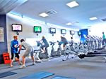 A wide range of cardio equipment in our