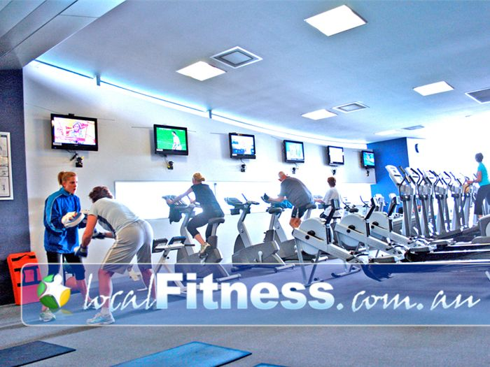 Monash Aquatic & Recreation Centre Gym Clayton  | A wide range of cardio equipment in our