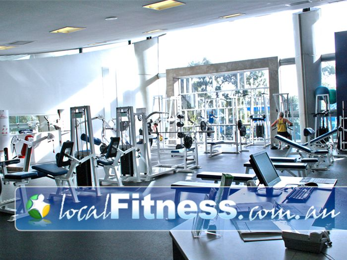 Monash Aquatic & Recreation Centre Burwood East Gym Fitness A fully equipped gym floor in