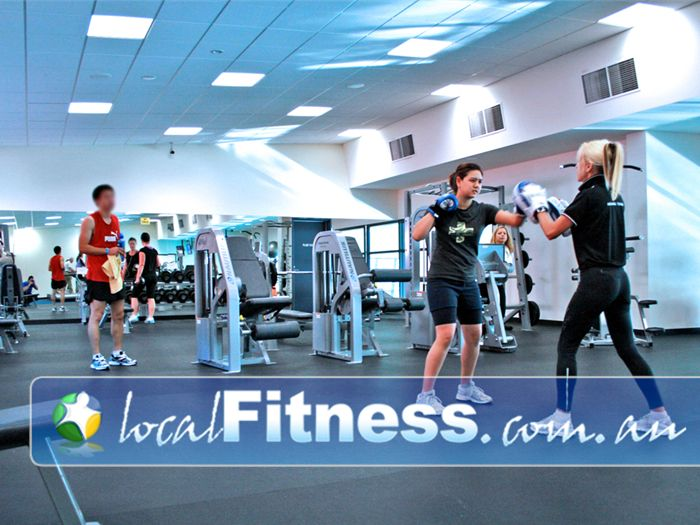 Clayton Aquatics & Health Club Clayton Gym Fitness An open floor training layout