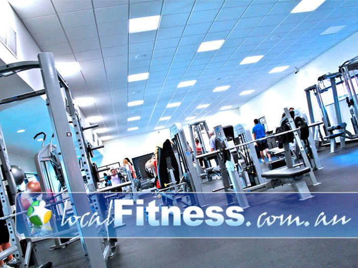 Clayton Aquatics & Health Club Gym Clayton  | A full range of strength training equipment in