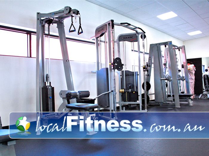 Clayton Aquatics & Health Club Clayton Fully equipped with the latest strength training equipment.
