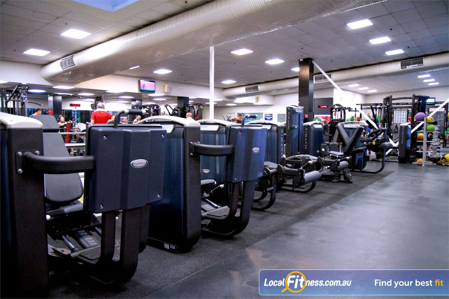 Fitness First Near Caravan Head Easy to use MATRIX and Life Fitness pin-loading machines.