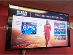 Track your effort on our Myzone screens.