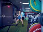 Fernwood Fitness Taylors Hill Ladies Gym Fitness Get into battle rope training