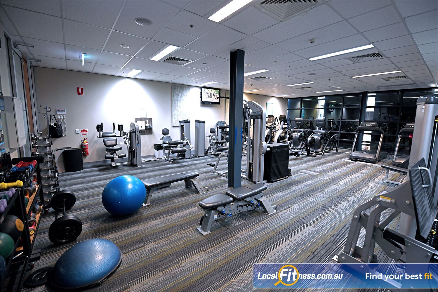 Goodlife Health Clubs Point Cook Private Point Cook ladies only gym area.