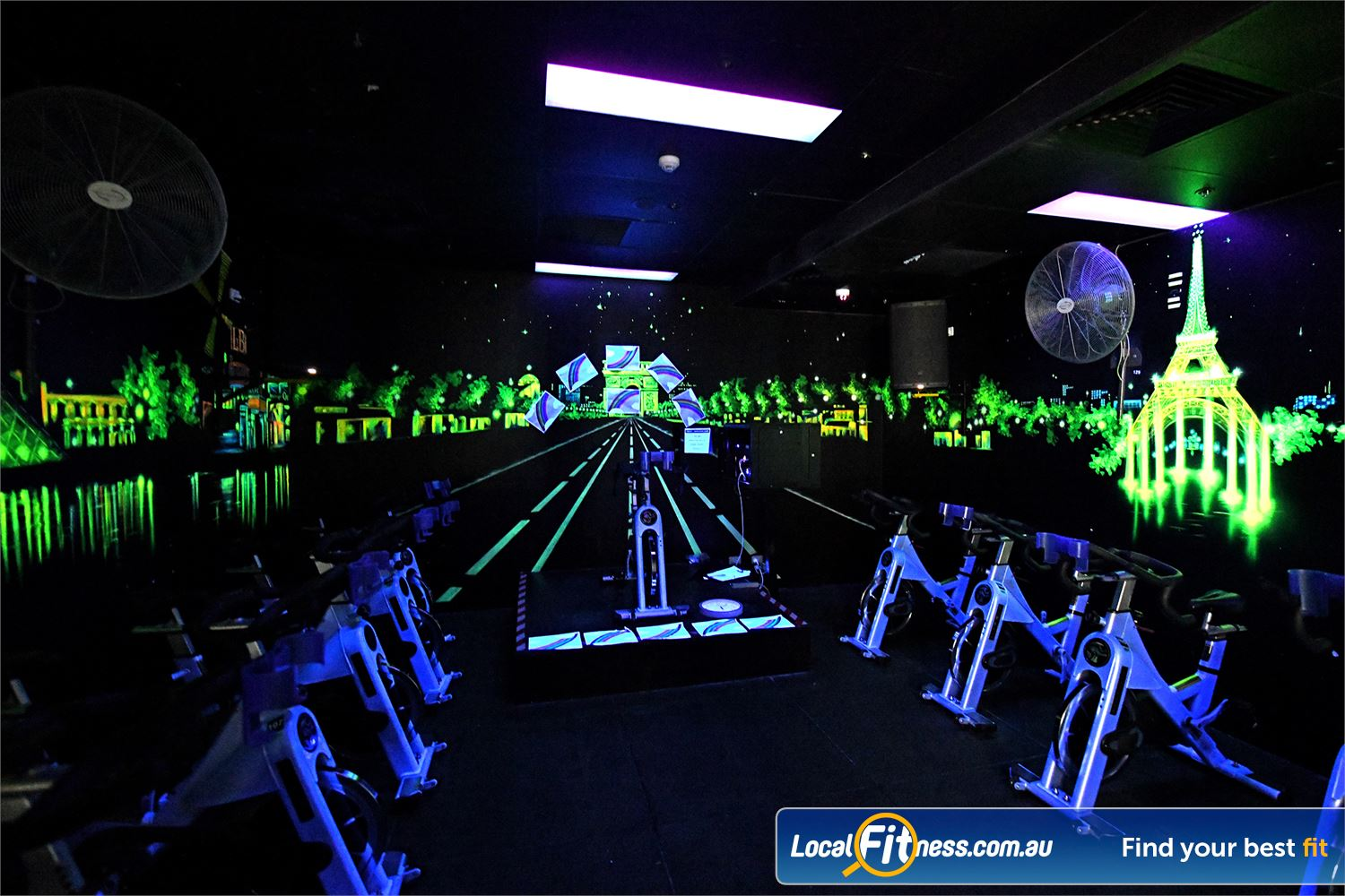 Goodlife Health Clubs Point Cook Our cosmic Point Cook spin cycle studio.