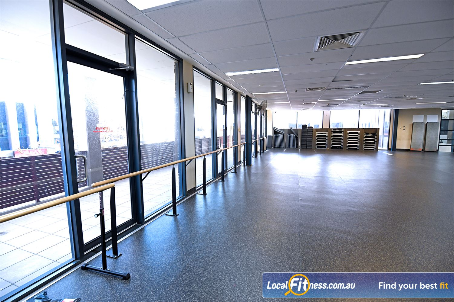 Goodlife Health Clubs Near Werribee Perfect area for Barre, Point Cook Yoga, Pilates and more.