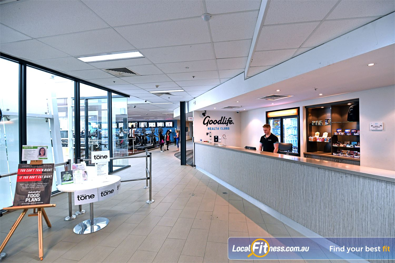 Goodlife Health Clubs Point Cook Our team are ready to help you with all your fitness needs.