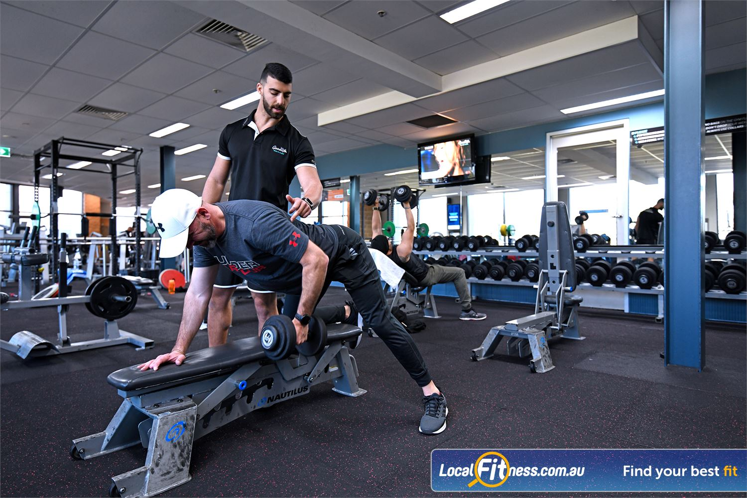 Goodlife Health Clubs Near Werribee Our Point Cook personal trainers will monitor your progress and results.