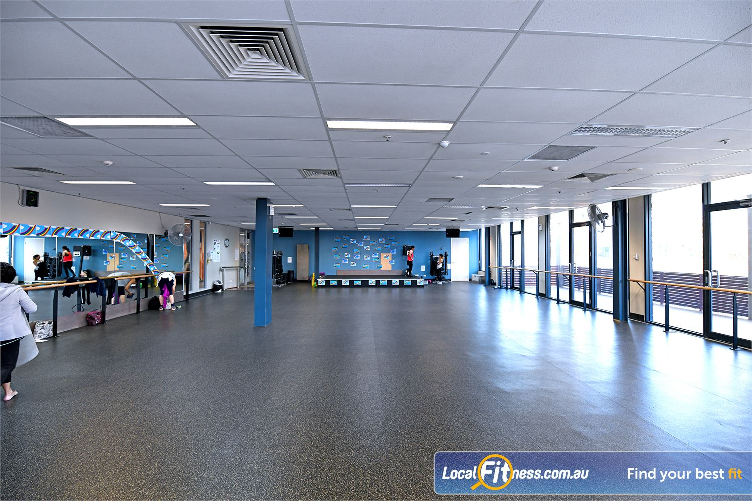 Goodlife Health Clubs Point Cook The dedicated Point Cook group fitness studio.