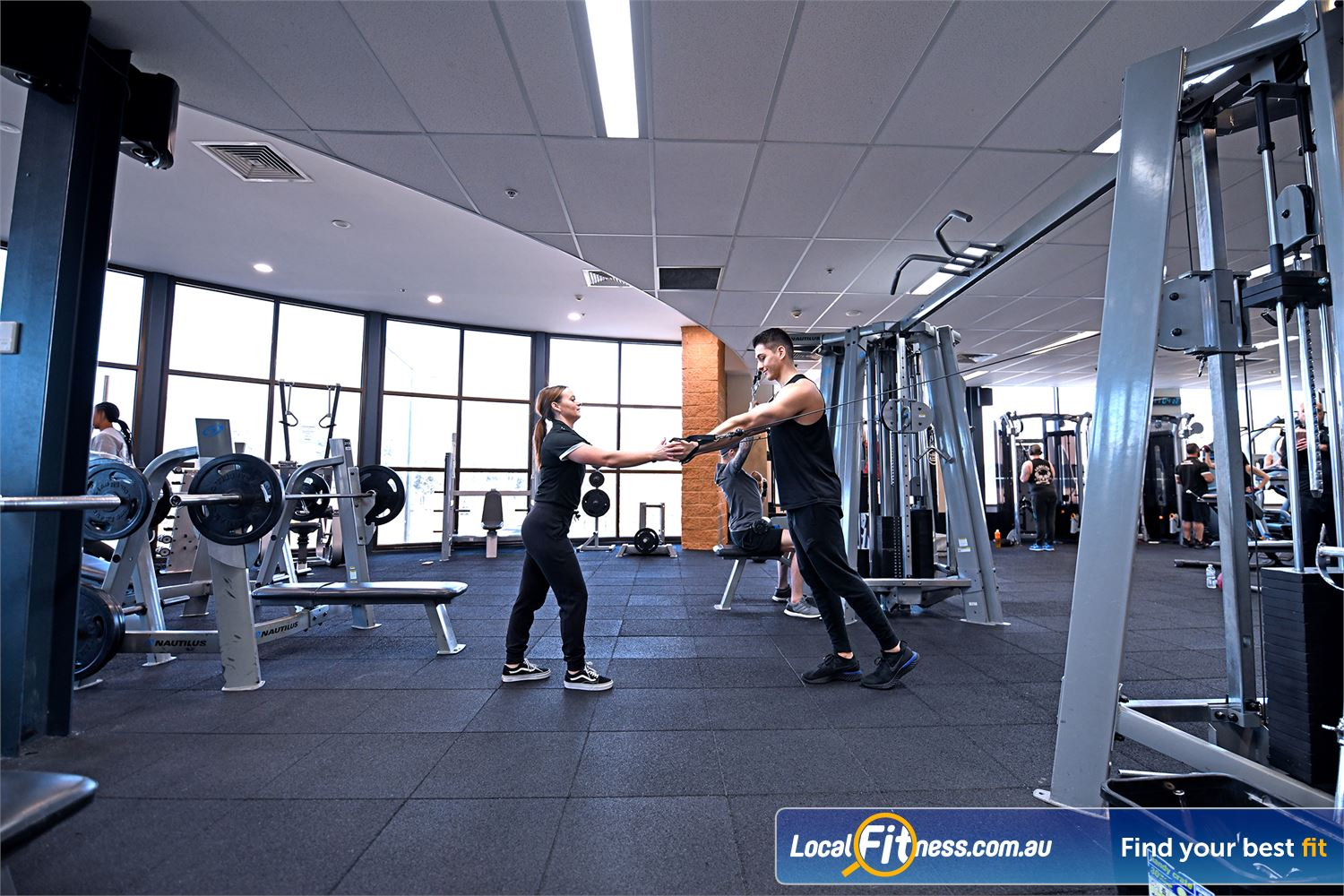Goodlife Health Clubs Point Cook Our Point Cook gym team can help you with your strength goals.
