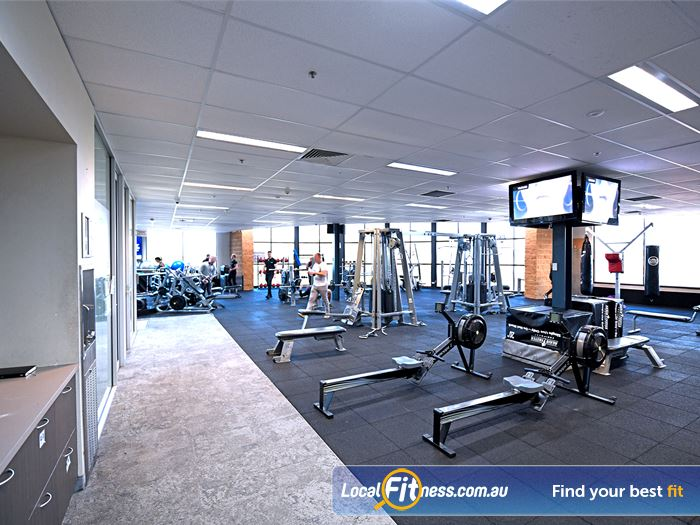 Goodlife Health Clubs Gym Hoppers Crossing  | The spacious Goodlife Point Cook gym.