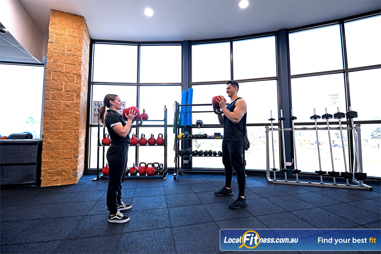 Goodlife Health Clubs Near Brooklyn Personlised service with Point Cook personal trainers.