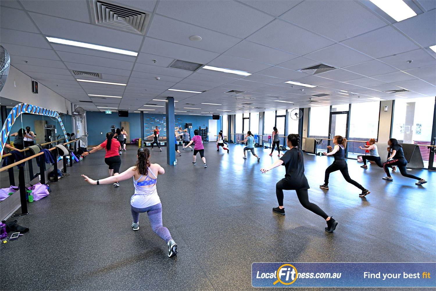 Goodlife Health Clubs Near Werribee South Enjoy Point Cook Yoga, Pilates and Zumba classes.