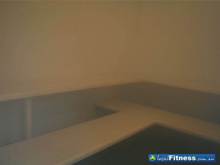 Lilydale squash fitness centre steam room