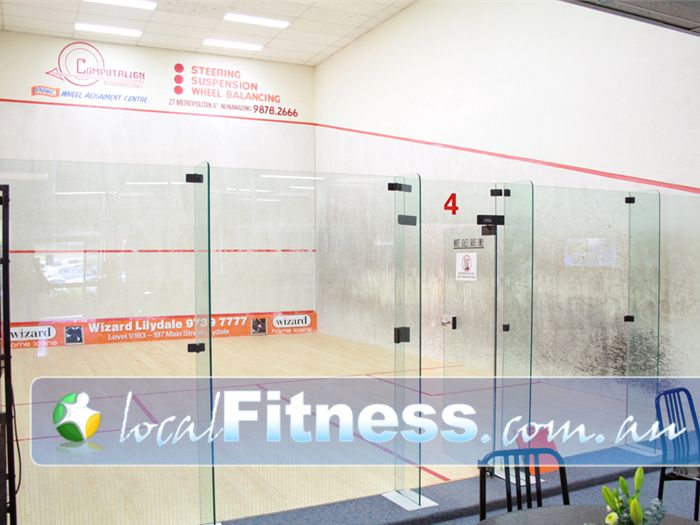 Lilydale Squash & Fitness Centre Kalorama Gym Fitness 3 glass backed squash /