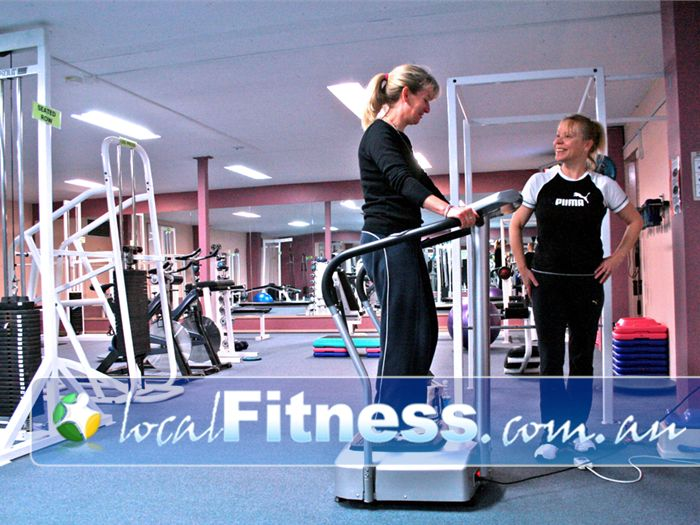 Summit Health Club Gym Malvern East  | Vary your workout with Vibration training for women