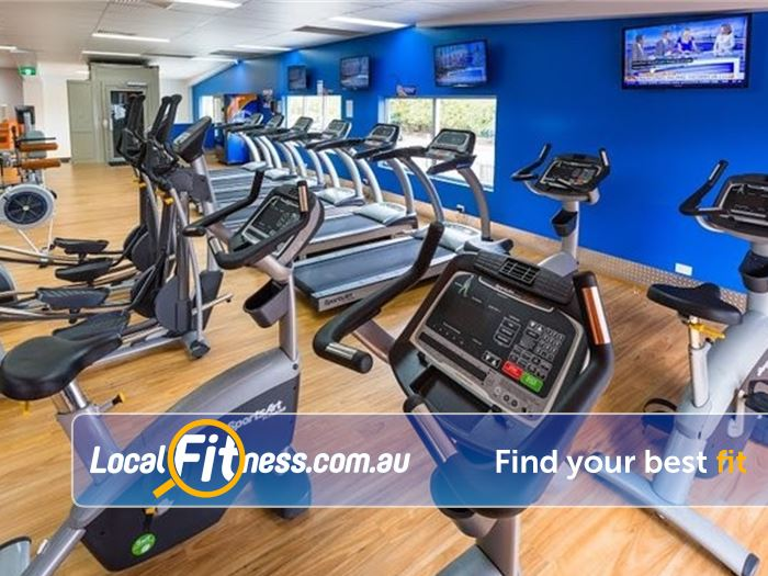 Plus Fitness 24/7 Gym Carindale  | Our spacious Windsor gym provides 24 hour cardio