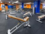 Full range of dumbbells, benches, half racks and