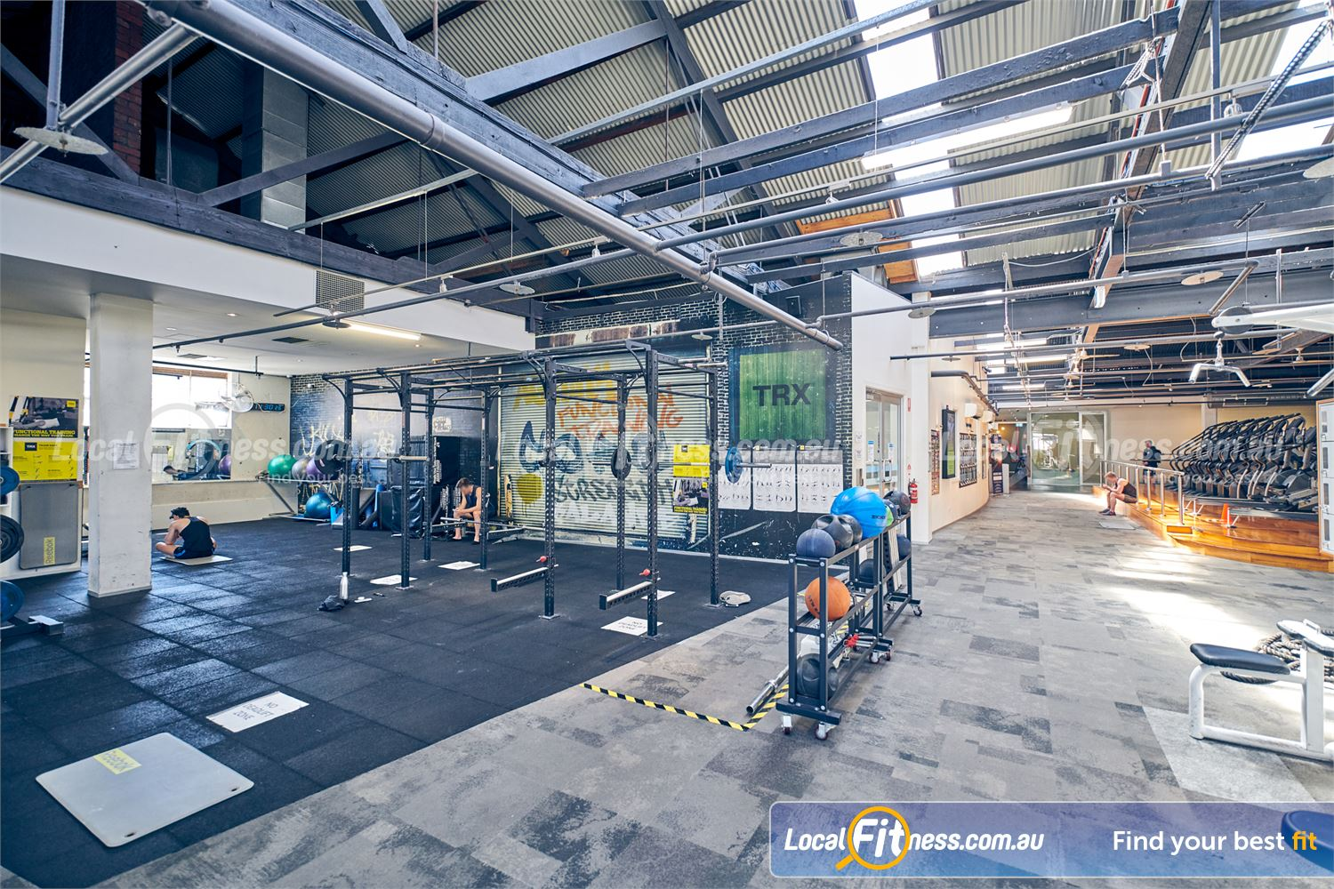 Goodlife Health Clubs Near St Kilda Our functional training area is fully equipped with a strength matrix.