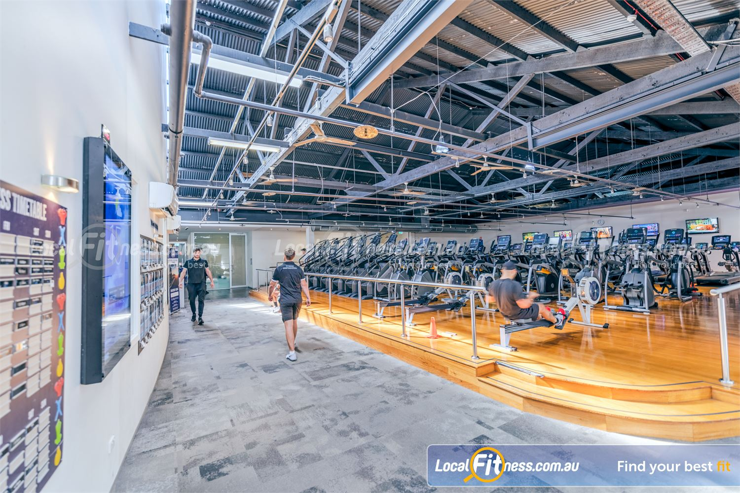 Goodlife Health Clubs Near Balaclava Our Prahran gym includes state of the art cardio machines from MATRIX.