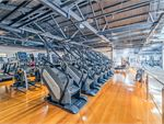 Goodlife Health Clubs Balaclava Gym Fitness Rows of treadmills, Arc