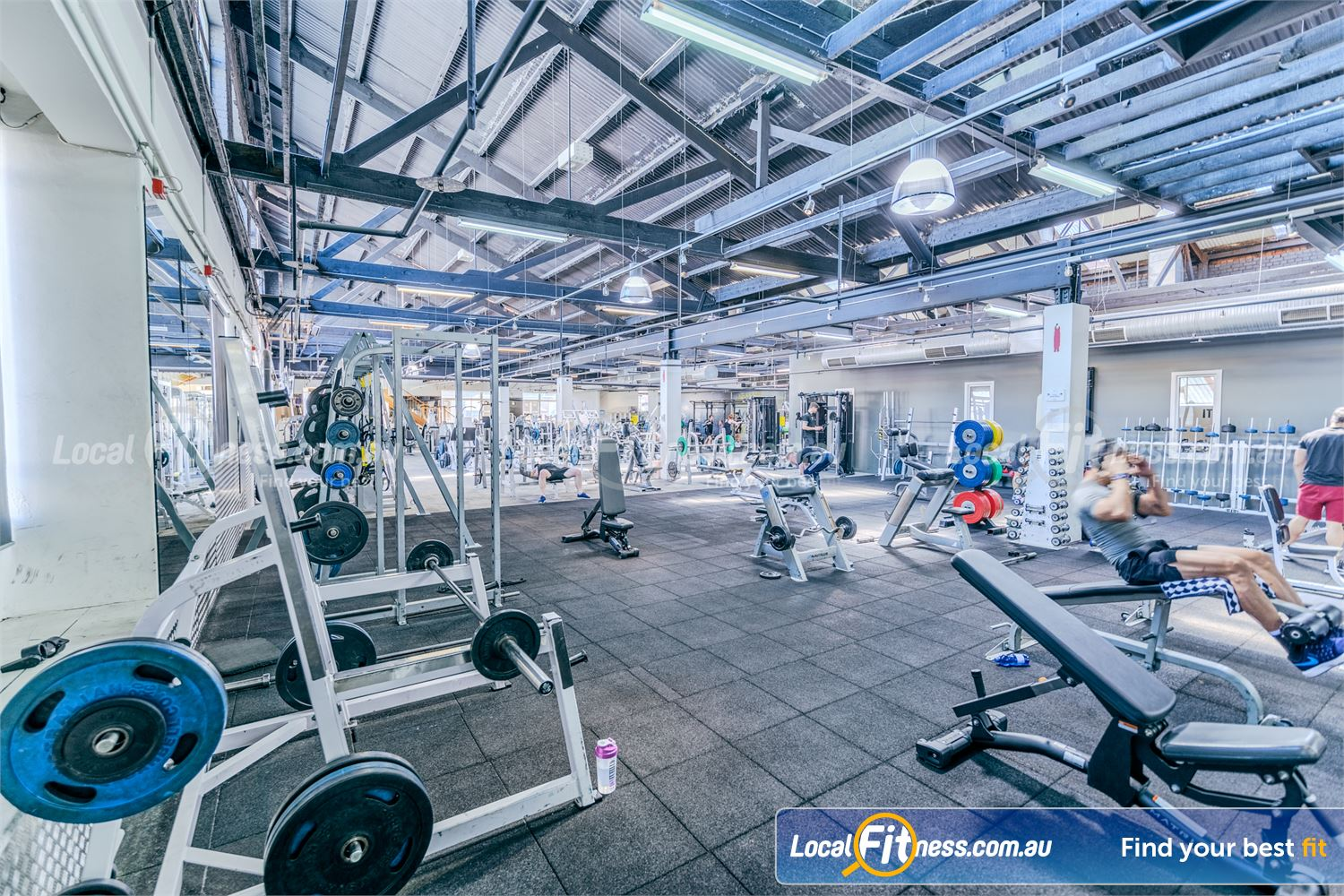 Goodlife Health Clubs Prahran Our Prahran gym features an open plan layout with plenty of natural lighting.