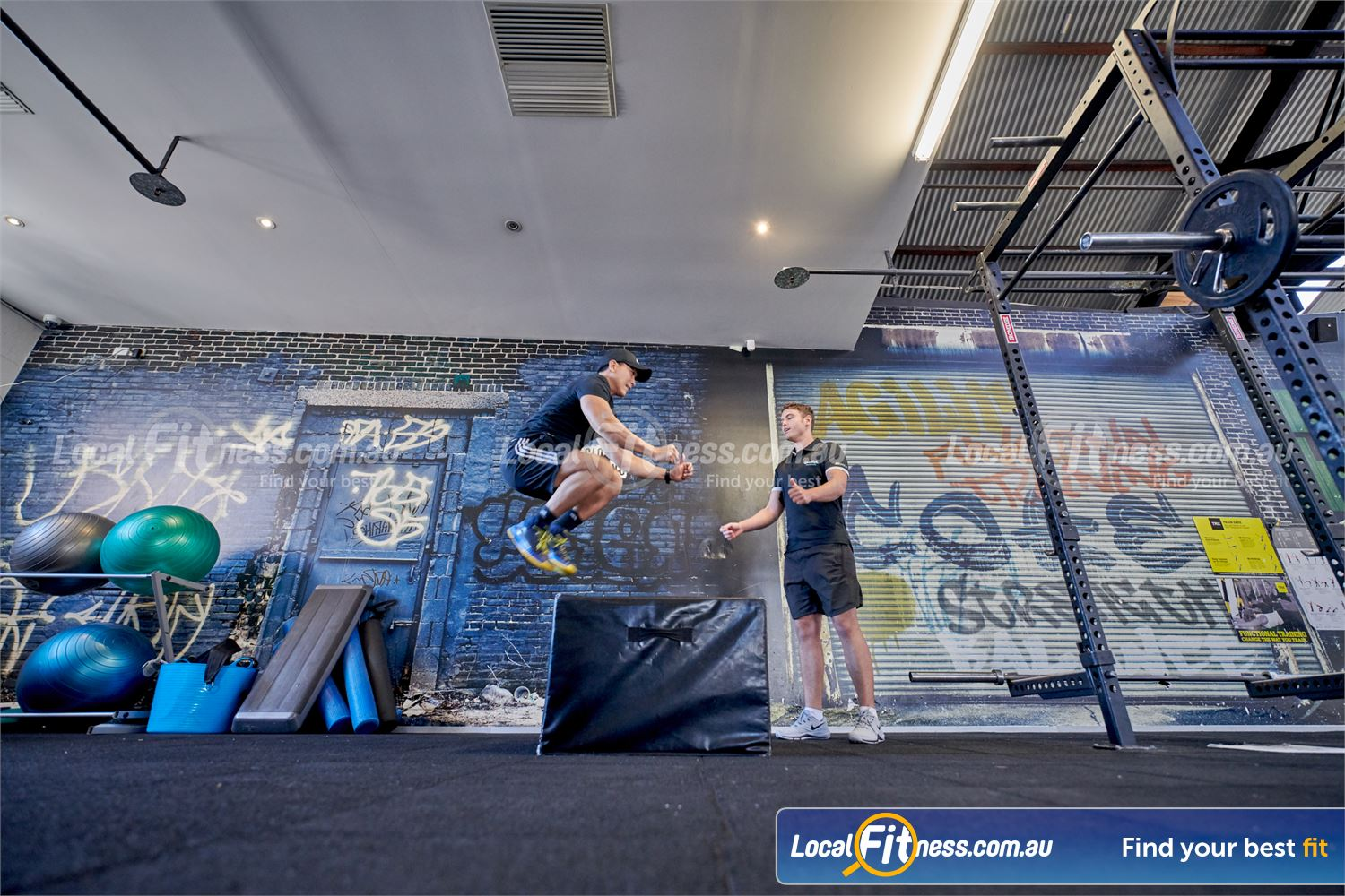 Goodlife Health Clubs Near St Kilda Our Prahran personal trainers can bring out the athlete in you with box jumps.