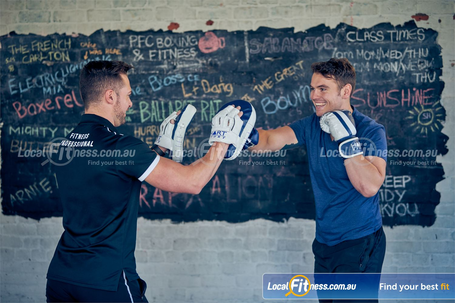 Goodlife Health Clubs Prahran Get a boxing workout in our Prahran boxing studio.