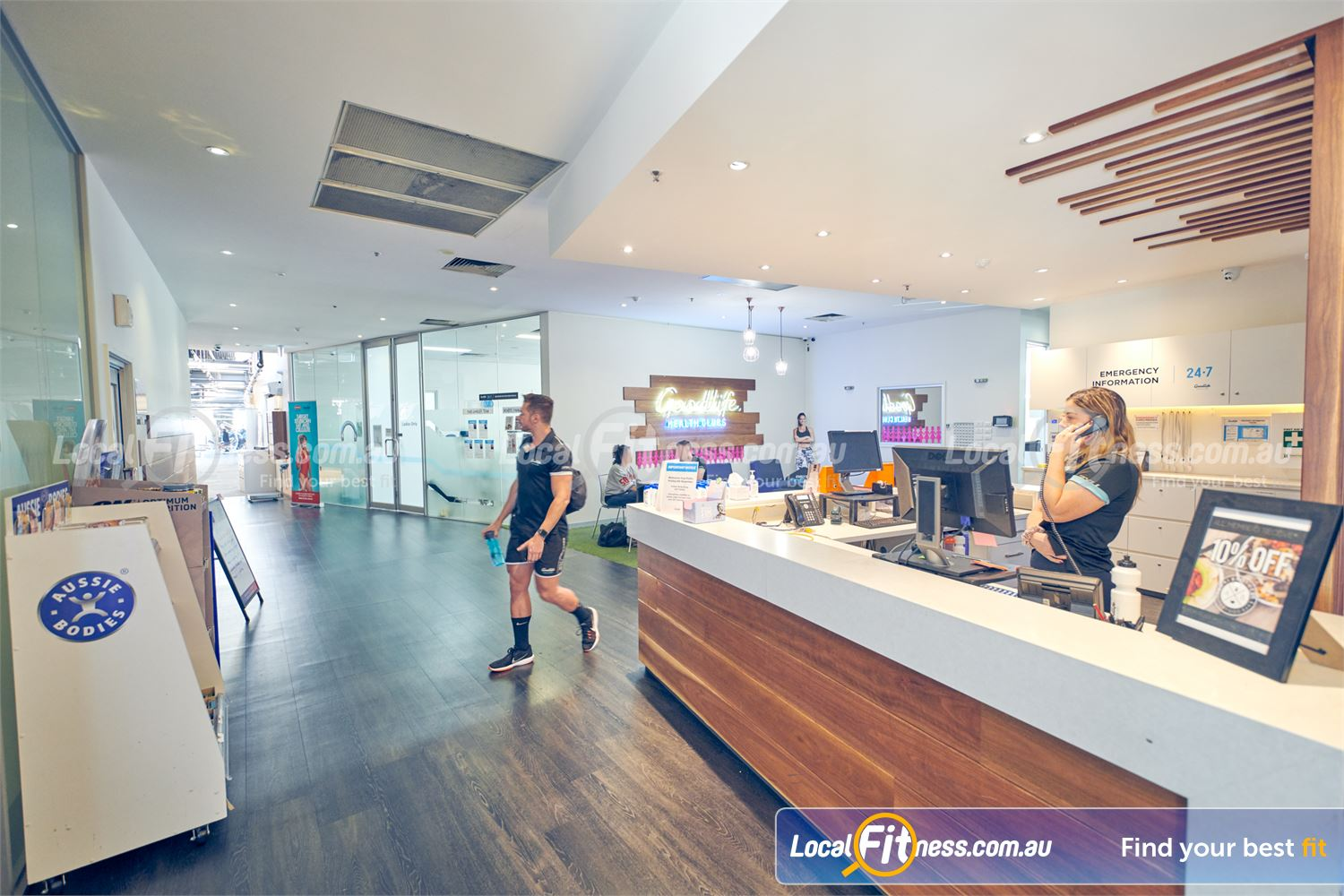 Goodlife Health Clubs Near Windsor Our Prahan team will welcome you and are ready to help you reach your goals.