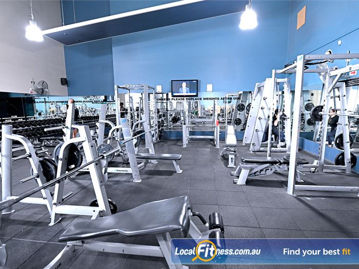 Goodlife Health Clubs 24 Hour Gym Melbourne  | A wide range of strength equipment from Nautilus.