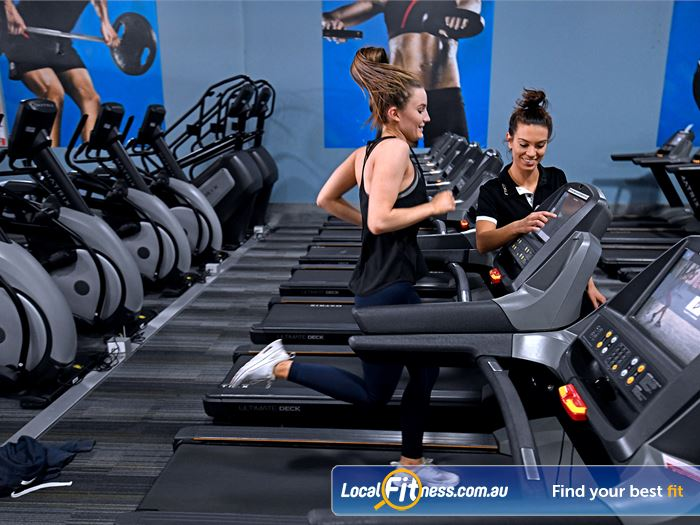 Goodlife Health Clubs Coburg Gym Fitness Cardio training in our warm and