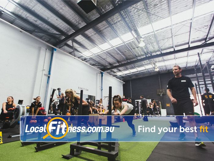 Hurt Locker HIIT Melbourne  | Get functional with our prowler on our sled