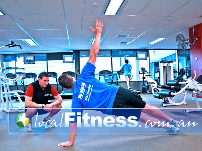 Genesis Fitness Clubs Gym Newport  | Ask our Southbank personal trainers about adding in