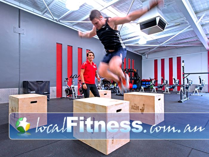 Genesis Fitness Clubs HIIT Perth  | Add ployometrics, kettlebells, ropes and more to your