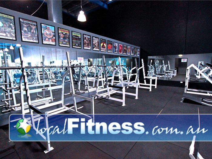Doherty's Gym Gym Tullamarine  | Heavy duty training with multiple squat racks.