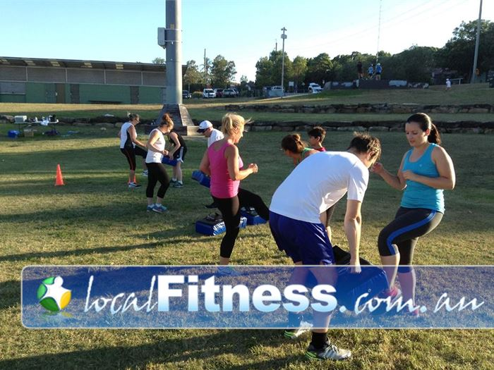Step into Life Baulkham Hills Near Winston Hills Combine boxing and kicking and a fun designed outdoor program.