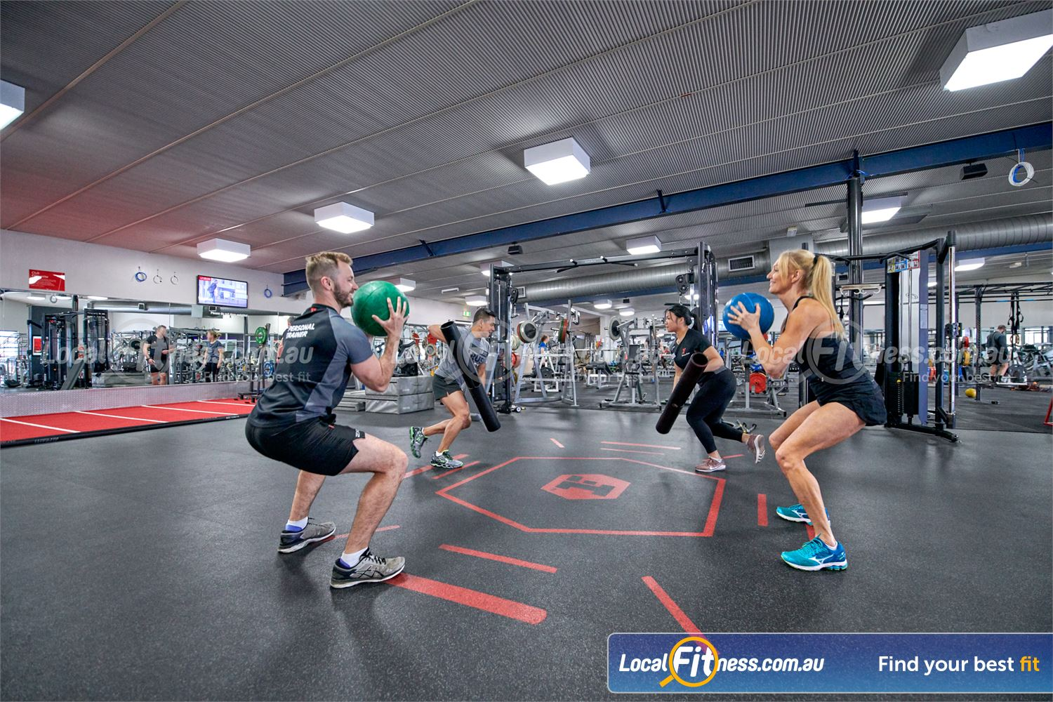 Fitness First Parramatta Join our range of popular freestyle strength classes.