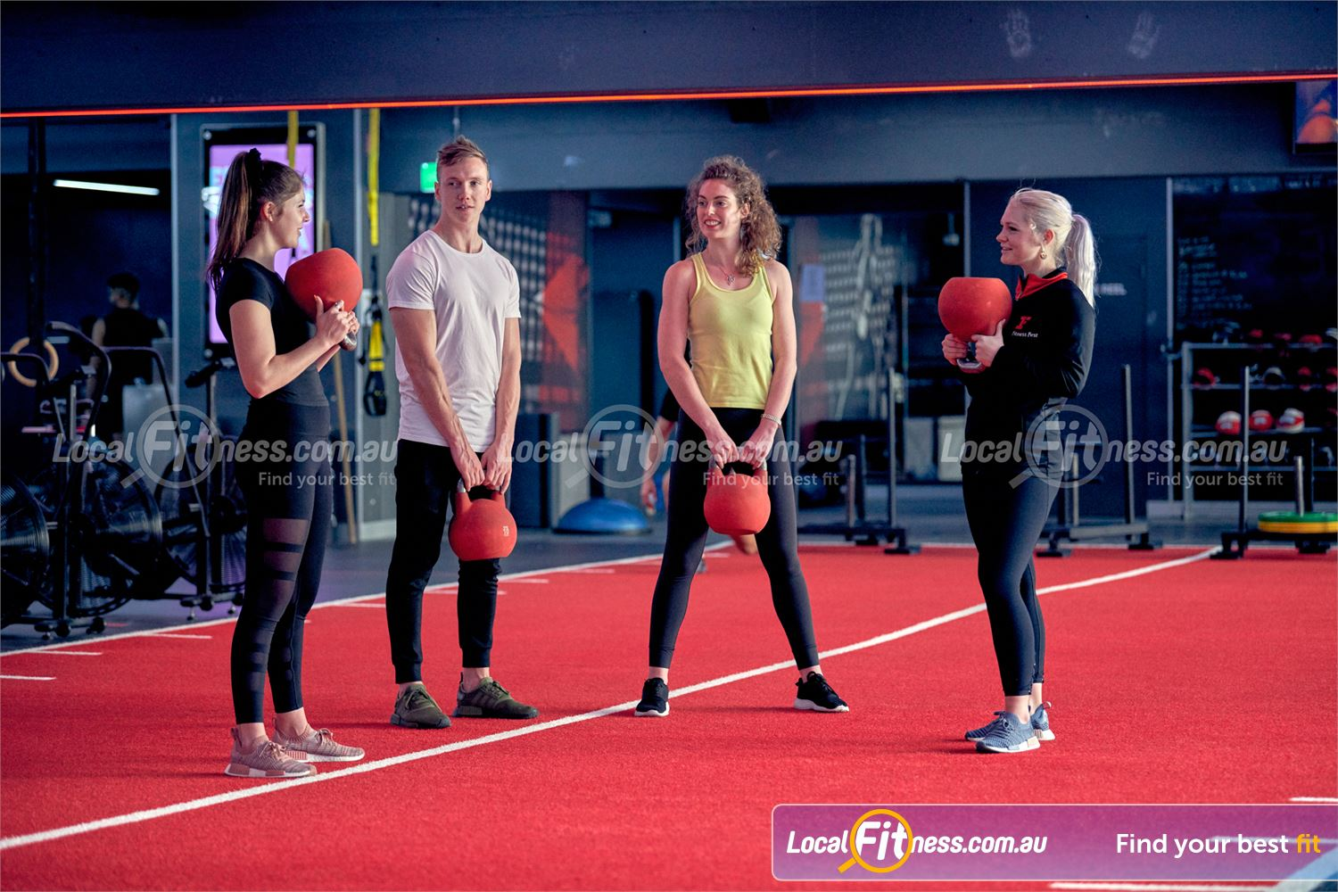 Fitness First Near Harris Park Freestyle training classes run daily at our Parramatta gym.