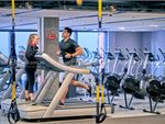 Fitness First Parramatta Gym Fitness Rows of cardio machines are