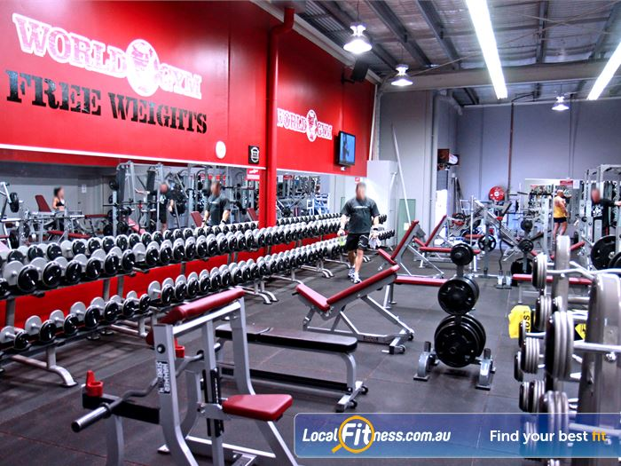 World Gym Gym Near Benowa With A Full Range Of Hammer