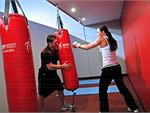 World Gym Ashmore Gym Fitness The Ashmore private boxing area