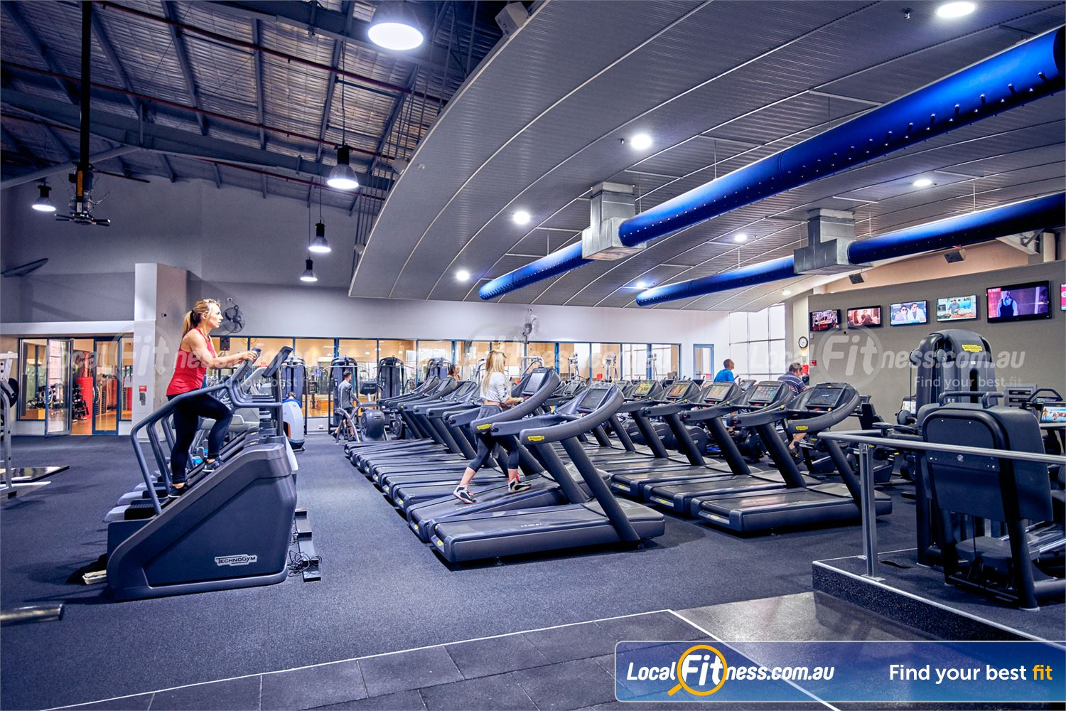 Fitness First Platinum Richmond Our Richond gym includes a state of the art cardio theatre.